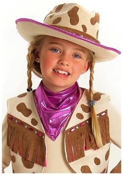 Sombrero de vaquera con diamantes de imitación
