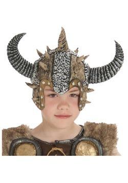 Casco infantil de vikingo