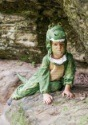 Disfraz de caimán para niños