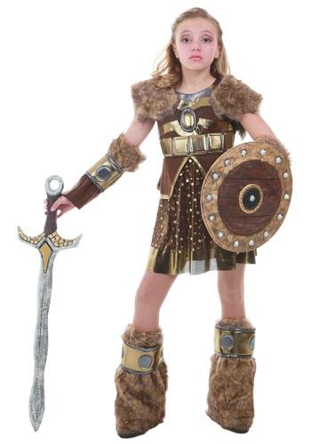 Disfraz vikingo Hildagaard tween