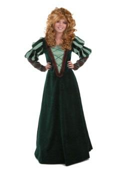 Disfraz de Valerosa Princesa del Bosque para adulto