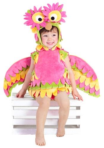Disfraz de búho colorido