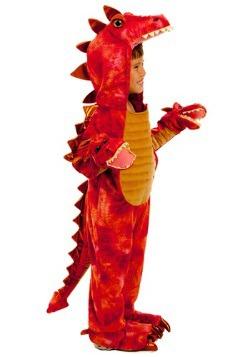 Disfraz de dragón rojo