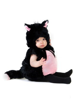 Disfraz de bebé gatito esponjoso