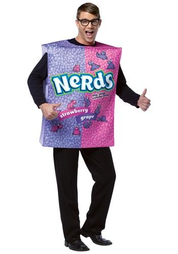 Disfraz de caja de nerds para adulto