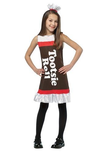 Vestido de rollo Tootsie para niñas