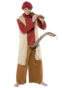 Disfraz de encantador de serpientes