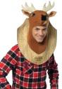 Disfraz de cabeza de ciervo de trofeo