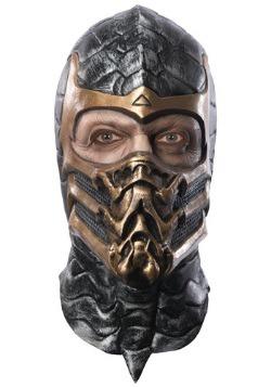 Máscara de escorpión deluxe
