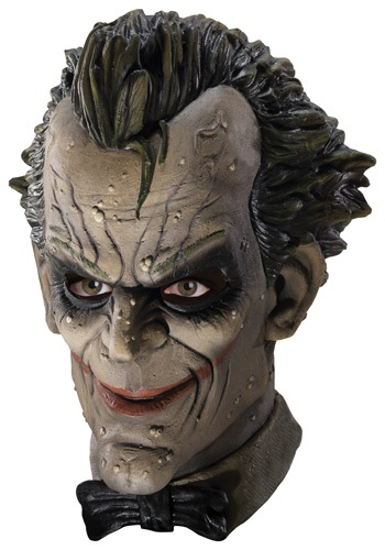 Máscara de látex de Joker de Arkham City