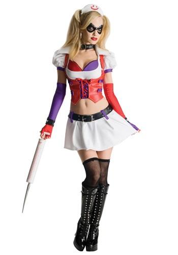 Disfraz de Harly Quinn de videojuego Arkham Asylum