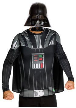 Camiseta y máscara de Darth Vader para adulto