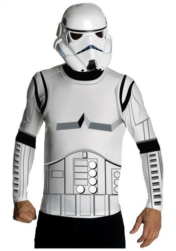 Camiseta y máscara de Stormtrooper para adulto