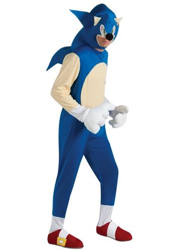 Disfraz de Sonic deluxe para adulto