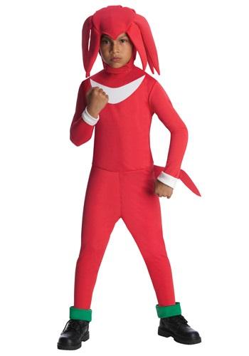 Disfraz infantil de Knuckles