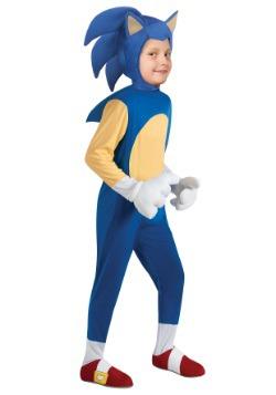 Disfraz infantil deluxe de Sonic