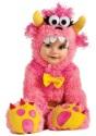 Disfraz de Pinky Winky rosa para bebé
