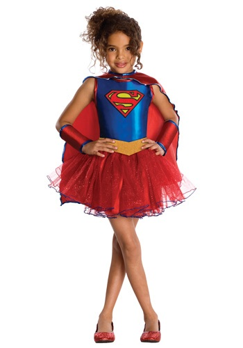 Disfraz de Supergirl con tutú para niños