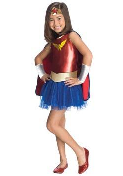 Disfraz de tutú de Mujer Maravilla para niños