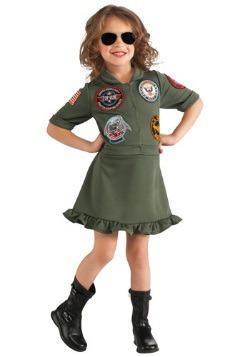 Vestido de piloto de Top Gun para niñas