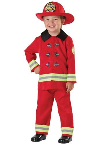 Disfraz de bombero para niños pequeños