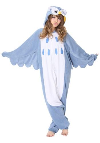 Disfraz de pijama de búho