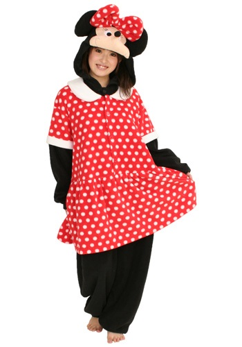 Disfraz de pijama de Minnie Mouse
