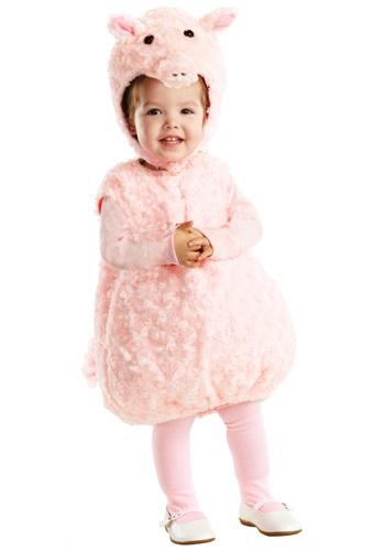 Disfraz de Piglet rosa para niños pequeños