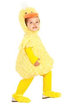 Disfraz de pato amarillo para niños pequeños