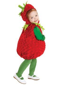 Disfraz de fresa roja para niños pequeños