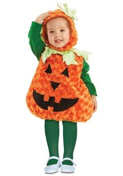Disfraz de calabaza para niños pequeños