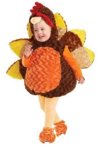 Disfraz de pavo para niños pequeños