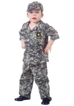 Disfraz de camuflaje militar para niños pequeños