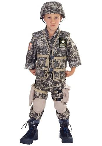 Disfraz Army Ranger Deluxe para niños