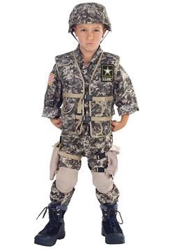 Disfraz de guardabosques del ejército de los EE. UU. De lujo