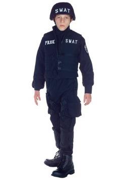 Disfraz de equipo SWAT para niños