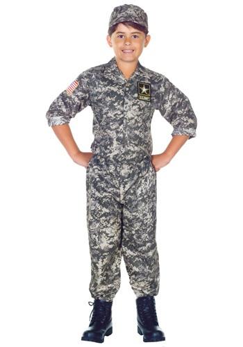 Disfraz de Camo para niño de los EE. UU.