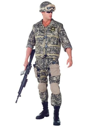 Disfraz de guarda del ejército de EE.UU. deluxe