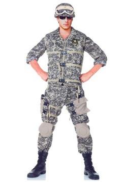 Disfraz Deluxe Army Ranger de los EE. UU. para adolescente