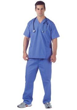 Disfraz Doctor Scrubs talla extra