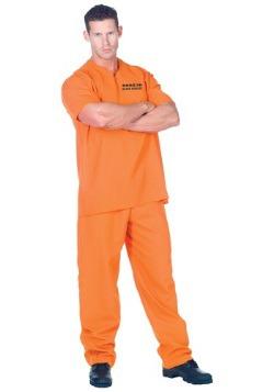 Disfraz de preso delincuente público