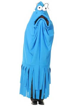 Vestido de monstruo de locura azul para adulto