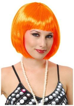 Peluca naranja Bob