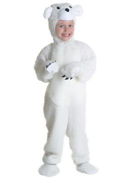 Disfraz de oso polar para niños pequeños