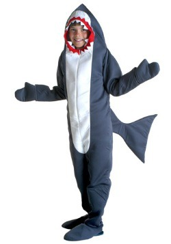 Disfraz infantil de tiburón