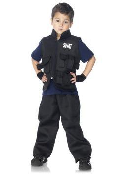 Disfraz de comandante SWAT para niño