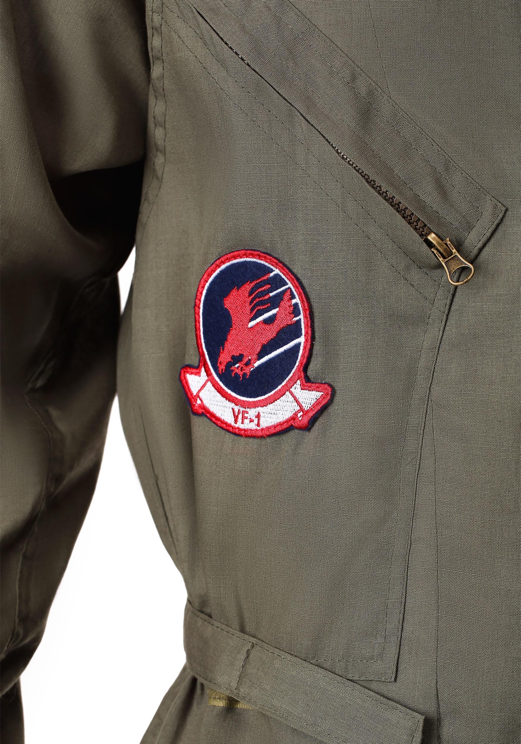 Disfraz mameluco de Top Gun talla extra 8da192464052