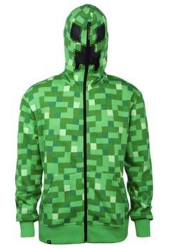 Sudadera con capucha Minecraft Creeper para adulto