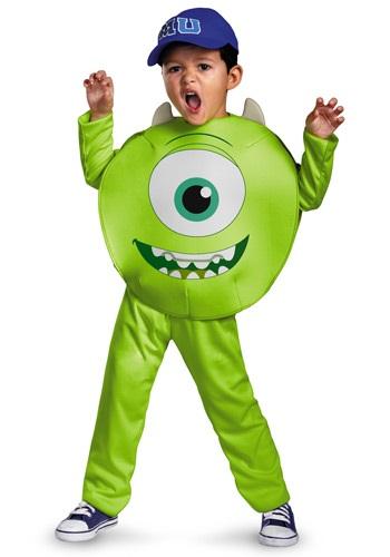 Disfraz clásico de Mike para niños pequeños
