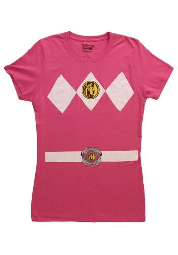 "Camiseta de mujer ""Power Ranger"" - Mujer - Rosa"